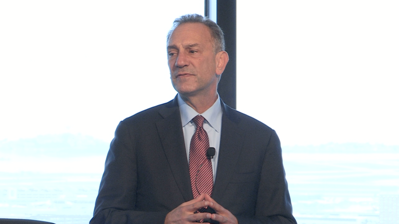 Gary Mendell speaking at an event